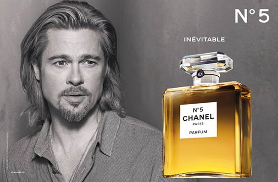 bradd Do you know the face of Chanel No. 5 perfume?