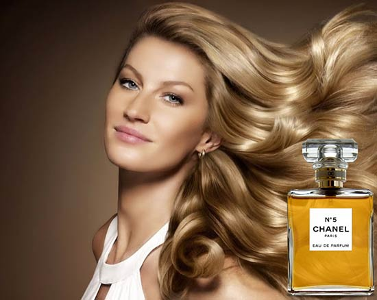 gisele-bundchen Do you know the face of Chanel No. 5 perfume?