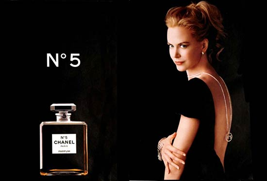 nicolad-kidman Do you know the face of Chanel No. 5 perfume?