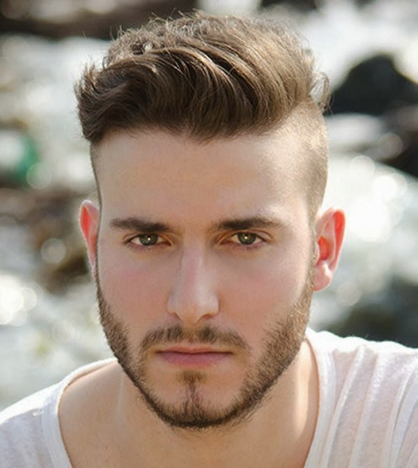 Hairstyle for Round Face Men 2017
