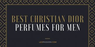 Best Amazing Christian Dior Perfumes For Men 2019