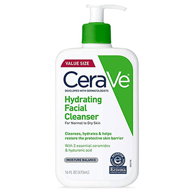 Cerave Hydrating Facial Cleanse - Leo passion